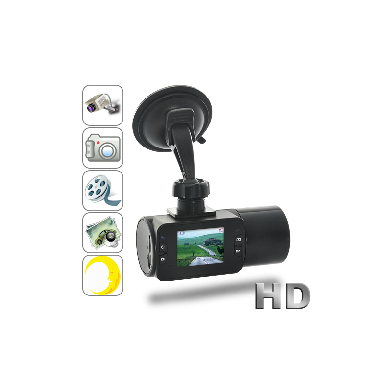 720P HD In-Car DVR with Nightvision
