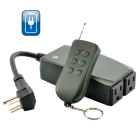 CVSB G360  Remotely control your outdoor security lights or holiday decorations while you are inside the house or your car with this Power Switch