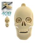 CVSB K177  Highly durable 4GB skull USB flash drive   transfer files in style this Halloween season