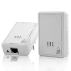 CVSB K184  HomePlug Powerline Mini Ethernet Bridge 200Mbps  Give every room with a power outlet easy access to high speed internet