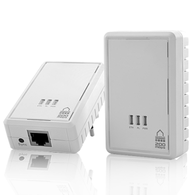 Homeplug Ethernet Bridge