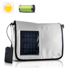 CVSB S47  Introducing the Solar Charger Messenger Bag  a truly innovative product will forever change the way people use their backpacks and briefcases