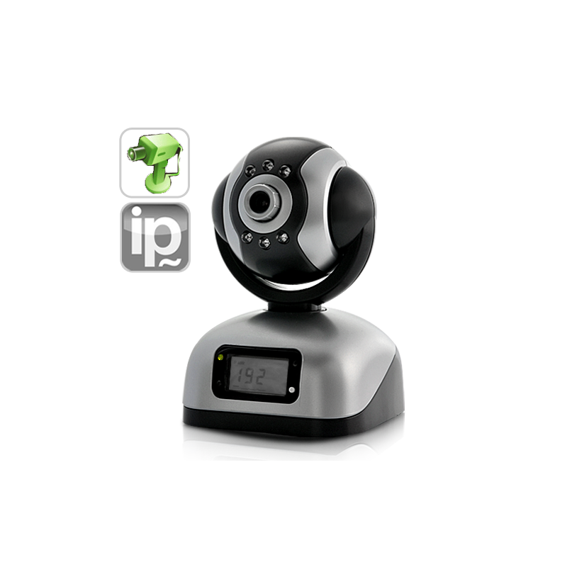 IP Camera with CF Card and LCD