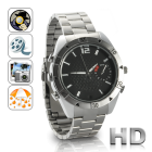 CVSL I182  The ultimate undercover and underwater  gadget is here  introducing the 2O Waterproof HD  Camera Watch