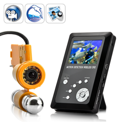 Underwater Video Camera with LCD and DVR