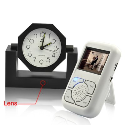 Spy Alarm Clock