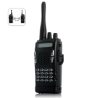 CVSL J71  Professional grade Walkie talkie with a bone conduction earpiece and push to talk finger button  Perfect for efficient  cheap  mass communication