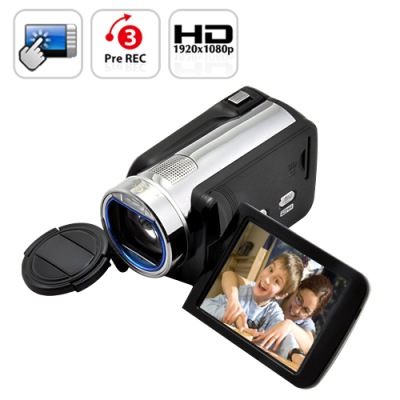 1080P HD Camcorder with 10x Zoom