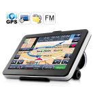 CVUK TR34  Say hello to the Sigma Octantis   7 Inch Touchscreen GPS Navigator with FM Transmitter  4GB   Utilizing the lightning fast Atlas IV chip  high