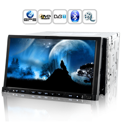 Road Wolf 7 Inch Car DVD with GPS/DVB-T