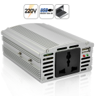 CVVH A126  This powerful and effective 350W power inverter brings you convenience by converting 12V DC power to 220V AC power and allows the use of domestic