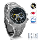 CVVM I142  Waterproof HD  Camera Watch with AV Out  8GB    the ultimate undercover and underwater  gadget is here and features HD video