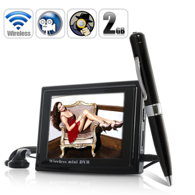 Pen Camera with DVR