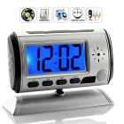 CVVM I165  This covert Digital  Camera Clock looks and works just like a normal desk clock  but hidden inside is a virtually undetectable  camera