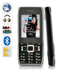 CVVX M233  Slim bar style mobile phone with worldwide  quadband GSM  connectivity  dual SIM card slots  modern media features  and one unbeatable price