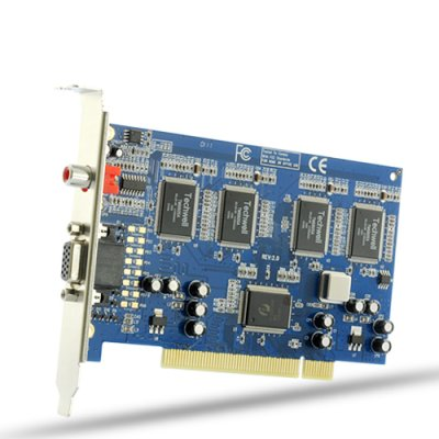 8 Video 4 Audio DVR Card