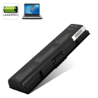 CVWN K191  Replacement battery for popular Toshiba laptop models including Satellite Series A200  A300  L200  A500  and M200