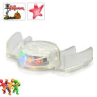 CVWQ G359  Add a colorful bite to your Christmas and New Year festivities with this LED Teeth Flashing Multicolor Mouthpiece