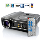 CVXN E207  LED projector with built in DVD player that plays DVDs  movies directly from the USB     your all in one solution for enjoying movies