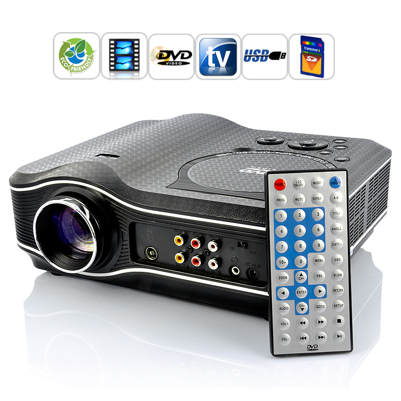 Multimedia Projector with DVD