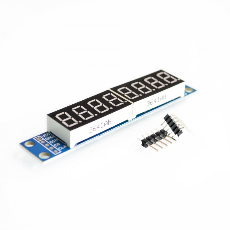 CWG 8-Digit Digital Tube Display Control Module Red blue