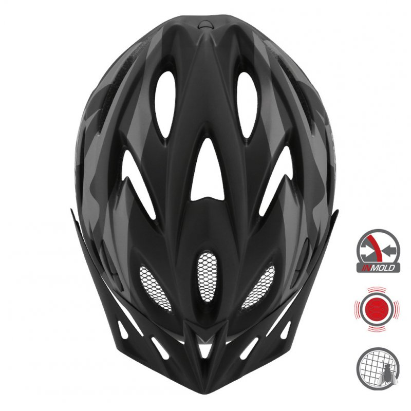 Cairbull FUNGO Helmet All-in-one Off-road Cycling Mountain Bike Motorcycle Riding Helmet Black grey_S / M (54-58CM)
