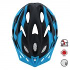 Cairbull FUNGO Helmet All-in-one Off-road Cycling Mountain Bike Motorcycle Riding Helmet Black blue_M / L (58-61CM)