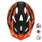 Cairbull FUNGO Helmet All-in-one Off-road Cycling Mountain Bike Motorcycle Riding Helmet Black orange_M / L (58-61CM)