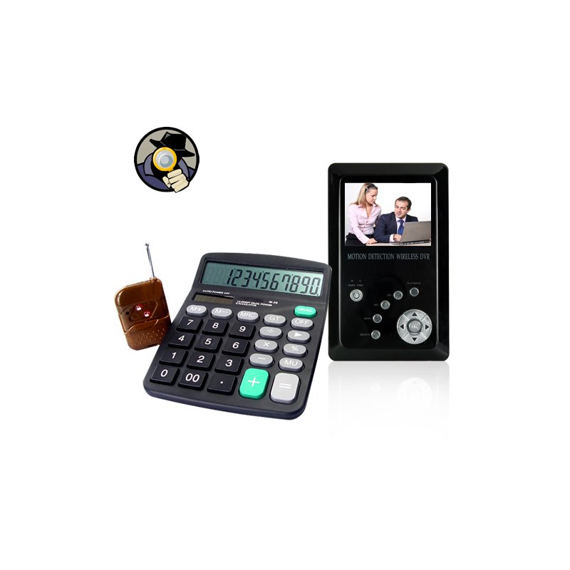 Calculator Videocamera and Recorder
