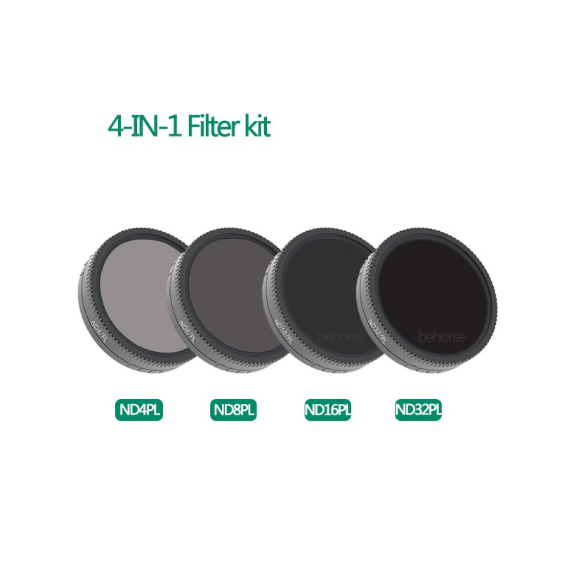 Camera Lens Filter Set Optical Glass CPL ND4-PL ND8-PL ND16-PL ND32-PL for DJI Osmo Action Accessories