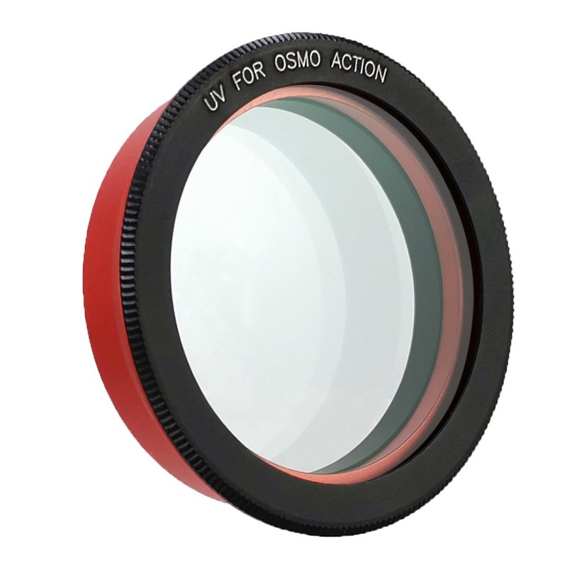 Camera Lens Filter for DJI Osmo Action Cameras UV CPL Lens High Light Transmittance Low Reflectance UV lens filter