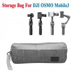 Camera Storage Bag For DJI OSMO Mobile3 Handheld PTZ Handbag Waterproof Carrying Bag Accessories gray