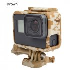Camouflage Protective Border Frame Case for GoPro Hero 7 6 5 Black Sports Cam for Go Pro 7 6 5 Action Camera Accessory yellow