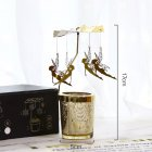 Candle  Holder Modern Girl Wrought  Iron  Glass Candlestick Candlelight  Dinner  Props e