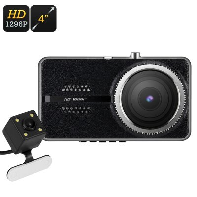 Dual Camera Car DVR Kit