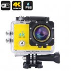 Capture stunning footage in ultra HD with the 4K Wi Fi Waterproof Sports Action Camera