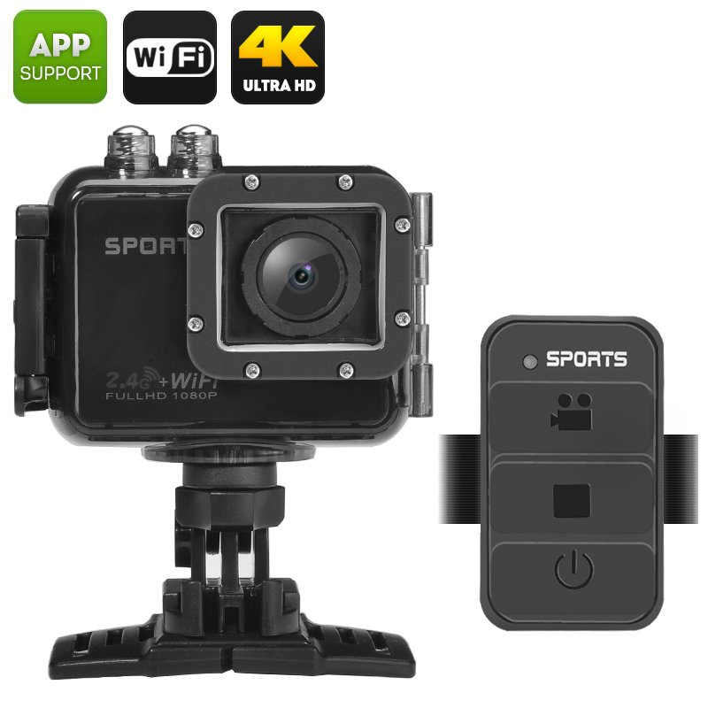 "UHD 4K Wi-Fi Action Camera ""PowerVision"""