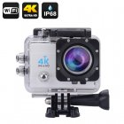 4K Wi-Fi Waterproof Action Camera (Silver)