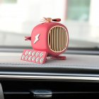 Car Air Freshener Car Smell Mini Conditioning Vent Outlet Perfume Clip Red
