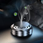 Car Air Freshener Flying Saucer Solid Aromatherapy Car Perfume Car Solid Balm black