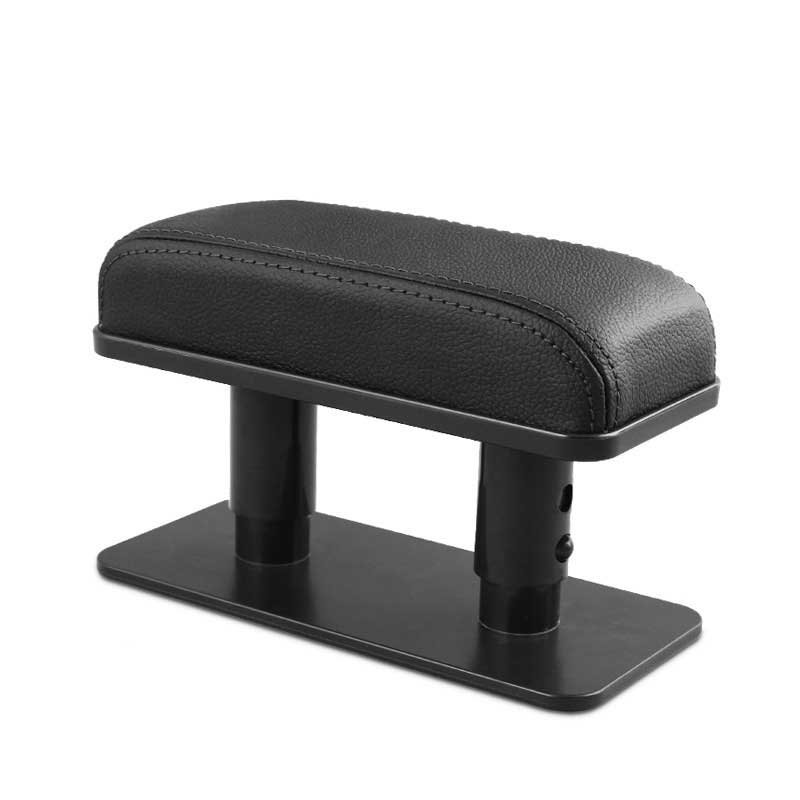 Car Armrest Cushion Anti-Fatigue Elbow Support Door Armrest Pad Protective Pad for Left Armrest Arm for Main Driver Position Black line