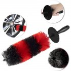 Car Brush Wheel Hub Special Car Hair Brush Tire Brush Soft Hair Cleaning Beauty Supplies large