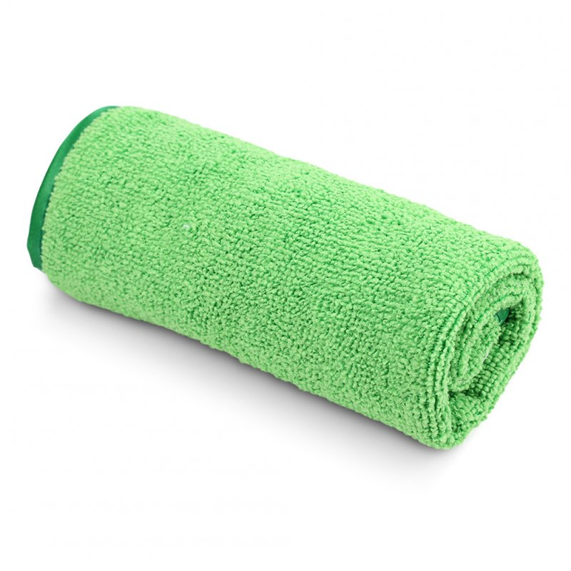 Car Clean Towels Car Care Polishing Wash Towels Plush Microfiber Washing Drying Car Cleaning Cloth Grey-green