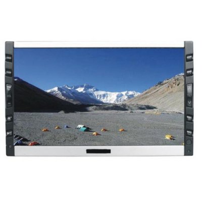 "7"" double-din DVD monitor with FM/AM/Amplifier out-hang GPS Port"
