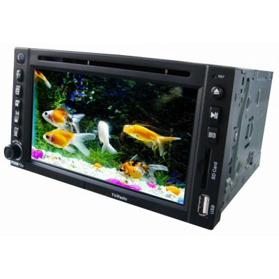 6.2 Inch TFT LCD Screen Double Din DVD Player - CDC Fucntion