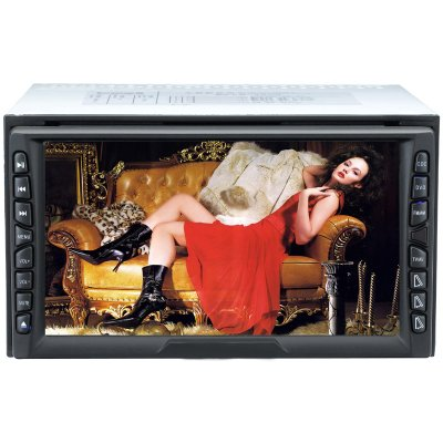 Two Din DVD Player with 6.5-inch(16:9) TFT-LCD