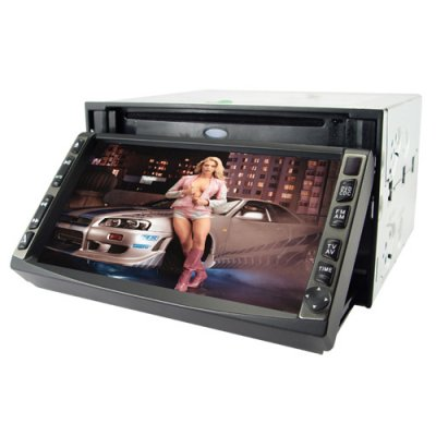 Car DVD Player With TV Tuner 2 DIN