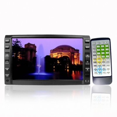 6.2 Inch 2-Din DVD Player - Touch Screen + TV Tuner
