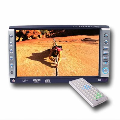 Multimedia Car DVD Player - Analog TV Tuner