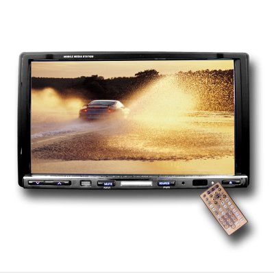 Complete Car DVD System - RDS + PAL TV Tuner